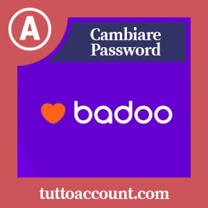 Cambiare password badoo