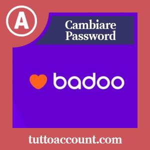 Cambiare password badoo