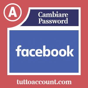 Cambiare password facebook