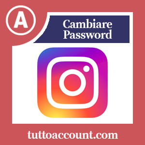 Cambiare password instagram