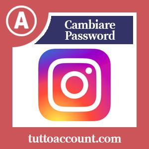 Cambiare password instagram