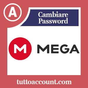 Cambiare password mega