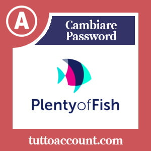 Cambiare password plent of fish