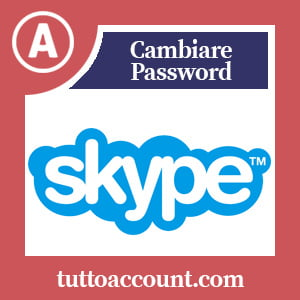Cambiare password skype