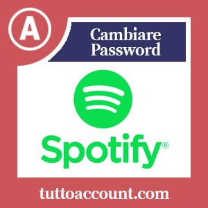 Cambiare password spotify