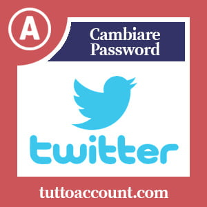 Cambiare password twitter