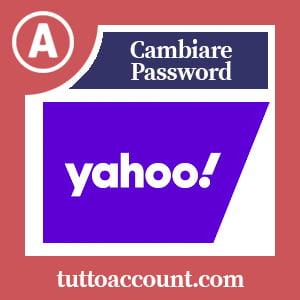Cambiare password yahoo
