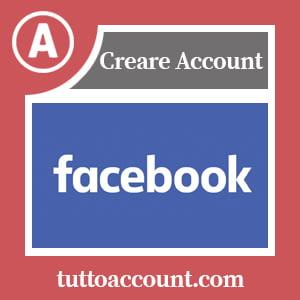 creare profilo facebook