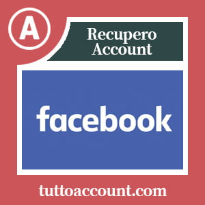 Recupero account facebook