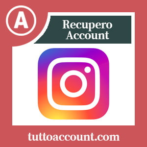Recupero account instagram