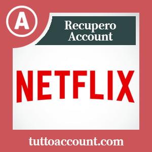 Recupero account netflix