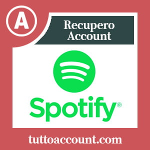 Recupero account spotify