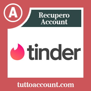 Recupero account tinder