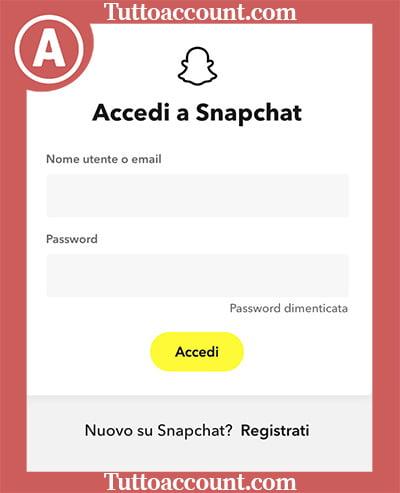 password snapchat
